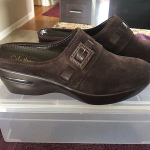 Cole Haan Suede Mules